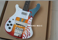 Left Hand 4 Strings 4003 Electric Bass Memorial Edition High Quality Wholesale Free Shipping