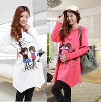 Maternity clothing 2013 long-sleeve maternity top maternity sweatshirt