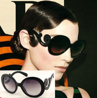 (Min order $10) Butterfly wings sunglasses trend vintage glasses lady gaga glasses sunglasses 7