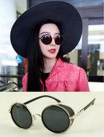 (Min order $10) Round sunglasses ksbui s264 35 vintage sunglasses