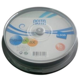 Arita 8.5g d9 plate 8x dvd r dl blank cd rom 10