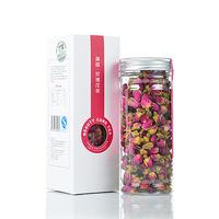 Refining rose tea superfine without sulphur purple roses raise colour herbal tea gift box