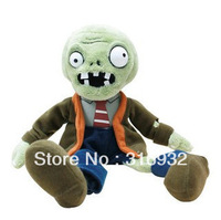 J1 New plant vs zombies series , Zombie soft plush toy 25cm