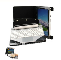 """5pcs/lot Folio Stand Leather Case With Keyboard Cover for Acer Win8 Iconia Tab W510 10.1"""" Tablet +Free shipping"""