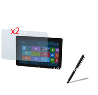 """2x Anti-Glare Matte Matted Screen Protector Film Guards +1x Stylus Touch Pen for Acer Win8 Iconia Tab W510 10.1"""" Tablet"""