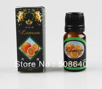 Freeshipping 5pcs/lot Lemon Fragrance Essential Oil For SPA Bath Relax Spirit Product Aromatherapy Oil 10ml/bottle 520