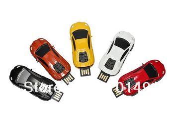 Full color sports car usb flash drive 4GB 8GB 16GB 32GB 64GB  Free shipping