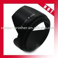 +77mm Flower Petal Lens Hood for Sigma Sony Minolta F1G