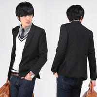 New mens blazer jacket blazer man jersey work clothes labour suit fatigue dress brand name single-breasted cotton jackets D138