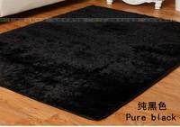 CA27701 polyster carpet black color 50*180cm 1piece free shipping bathroom rug soft baby mat door mat sleep rug