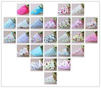 100pcs/lot mix baby large pure cotton towel head triangle headscarf saliva towel scarf free shipping