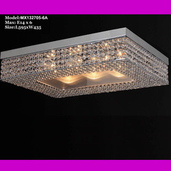 Free shipping 2013 Top 1 China Crystal and metal shade Chandelier MX132705-6A classic pendant lamp 6*E14 D50CM(China (Mainland))