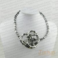 Free Shipping Magic Bendy Snake Necklace 12pcs/lot Diameter 5mm Lenght 90cm