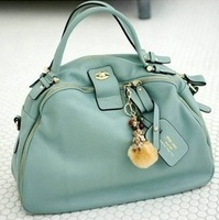 FLYING BIRDS 2013 New Popular Fashion Genuine Leather   women leather handbag  Shoulder Messenger Bag SH050