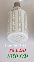 Corn LED Bulb E27/B22/E14 500LM 220V/110V 5W 108pcs LED Lamp White Spotlight 360 Degree LED Lighting/Tubes Free Shipping