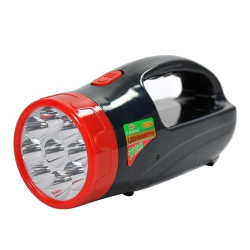 Two-in-one led portable floodlight projector flashlight energy saving lamp 7718(China (Mainland))