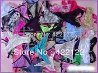 women cotton lace many color size sexy underwear/ladies panties/lingerie/bikini underwear pants/ thong/g-string DZ0231-12pcs