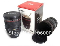 Wholesale Coffee camera lens mug cup freeshipping