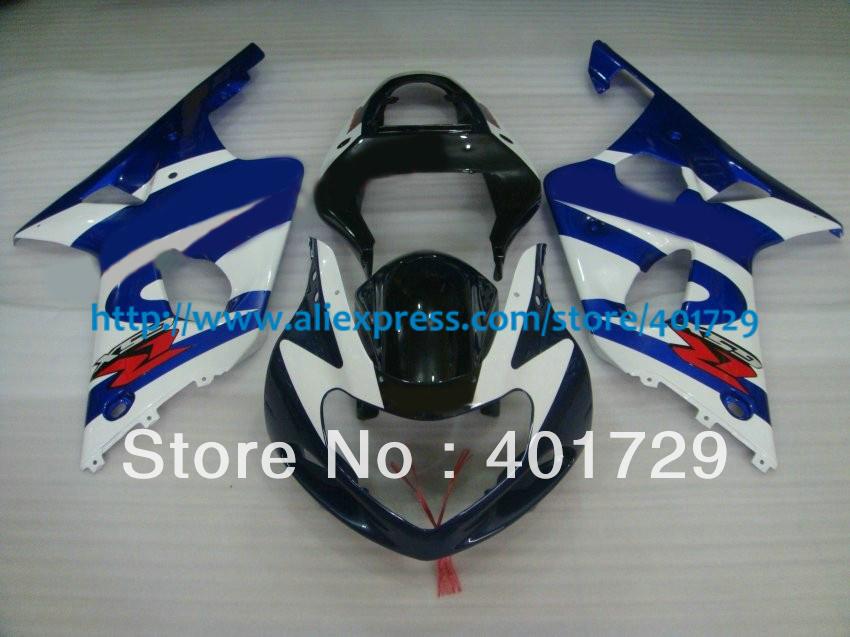 Customize Suzuki GSXR-1000 GSX-R1000 2000 2001 2002 fairing kit,mix color racing motorcycle fairing(China (Mainland))