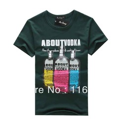 2013 now male cotton boy T shirt man Short Sleeve shirts man Tops Brand t-shirt discount size M/L/XL new arrive colorful(China (Mainland))