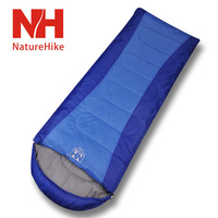 Hot Sale FREE SHIPPING Outdoor sleeping bag Thermal Adult Sleeping Bag Autumn and Winter envelope Hooded Outdoor Camping