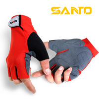 Free shipping High quality bicycle ride short gloves outdoor silica gel semi-finger   gloves