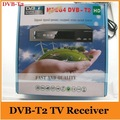 Free shipping ,Support Russia menu High Definition DVB-T2 Digital Terrestrial TV Receiver MPEG2/ MPEG4/H.264/DVB T2 /USB/HDMI