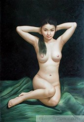 Free Shipping buy oil paintings suppliers china oil painting P552699(China (Mainland))