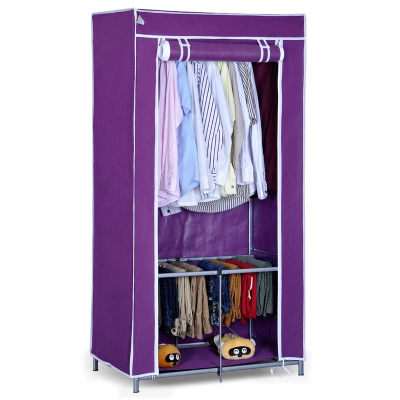 Load-bearing pants hanging easy folding cloth wardrobe(China (Mainland))