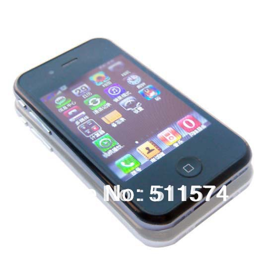 "Hot sell free shipping russian i5 5G 5S Phone 5 3.2"" Touch Screen Quad Band Cell Phone mpi5z0d1(China (Mainland))"