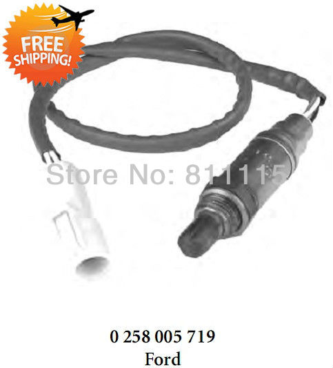 Oxygen Sensor 0258005719 Lambda Sensor for Ford, 4 wire O2 sensor, free shipping(China (Mainland))