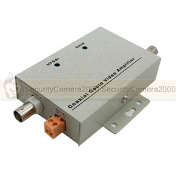 Free Shipping Coaxial Cable BNC Video Signal Amplifier Booster for Security Camera(China (Mainland))