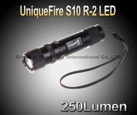 Uniquefire S10 CREE XRE R2 250LM 1xAA/14500 LED Flashlight Mini Torch