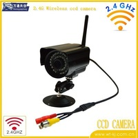 2.4Ghz Color CCD Wireless Security Camera with LED Light