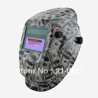 Li battery+ solar auto darkening welding/gringing mask/welding helmet/welder glasses for welder welding machine/plasma cutter
