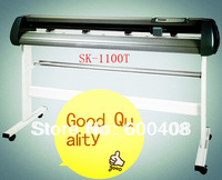 Free shipping vinyl cutter plotter 1100mm with stand and original software !!