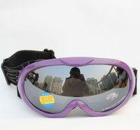Free Shipping Double Lens Polarized Anti Fog Windproof Ski Goggles UV400 Protection Europe Style  Snow Glasses Men / Women