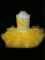 Halter Top Little Rosie Cupcake Dress Lovely Little Rosie Yellow Glitz Toddler Pageant Dress ZW29