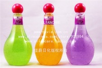 400ML FRUITS SCENTED SHOWER GEL IN PET BOTTLE WITH CHERRY CAP!