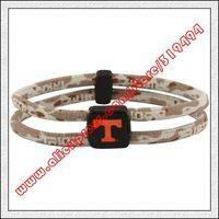 Tennessee Volunteers Double Loop Trion-Z Bracelet - Desert Camo
