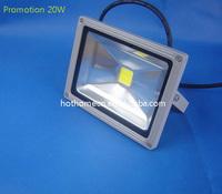 Free Shipping High Lumen U.S Bridgelux Chip 45mil 20W LED Outdoor Flood Light  CE & Rohs