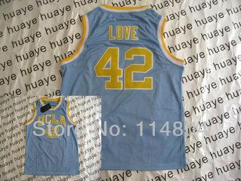UCLA Bruins #42 Love Blue NCAA College American Football Jersey New Season Authentic Basketball Jerseys Hot Sell