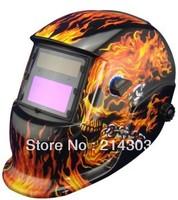 Welding Accessories Solar auto darkening welding mask/helmet welder protection  helmet for MIG TIG ZX7 welding equipment