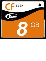 Free Shipping! Brand New Team 8GB 233X CF Memory Card for Canon/ Sony / Panasonic / Nikon / Fuji Cameras