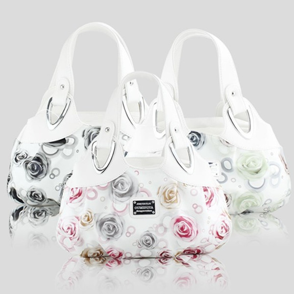 2013 new coming Western style dream flower series women handbag the ink and dream style totes big discount(China (Mainland))