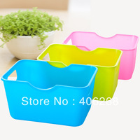 free shipping wholesale  cheap !!! Mini desktop sundries storage box rectangle finishing bins