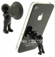 Min. Order is $10 ( Can Mix order )!   Hercules mobile phones support small black and white master mobile phone holder