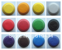 wholesale  solid color 1000pcs cupcake liners baking cup bakeware mufin case baking cake tool  party decoration tool