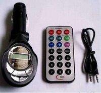 2013 Free shippin New Car kit MP3 Foldable FM Transmitter for SD/MMC/USB/CD 02 #8098 free shipping
