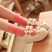 2013 women's  preppy style casual single  platform  female  shoes
